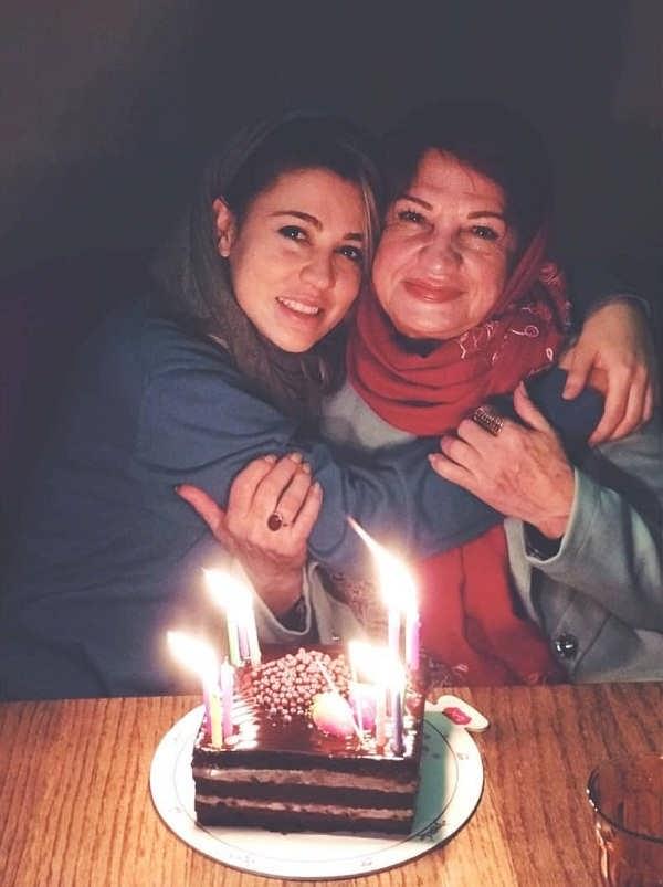 عکس ناهید مسلمی و دخترش شیدا خلیق