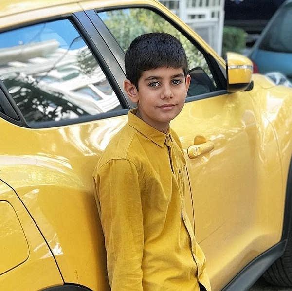 عکس پسر مرتضی فاطمه به نام سید علی فاطمی