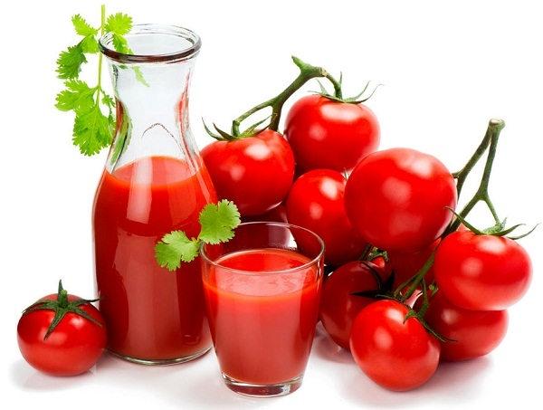 فواید رنگ قرمز گوجه فرنگی