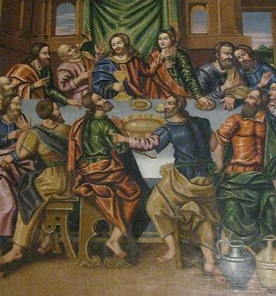 شام آخر و به صلیب کشیده شدن عیسی مسیح