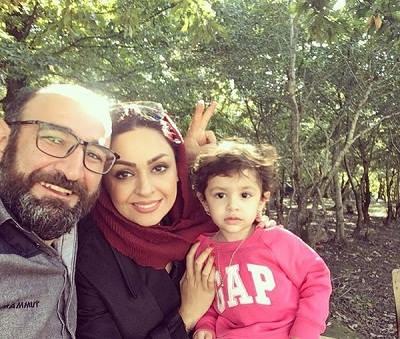 همسر هدایت هاشمی و دخترش