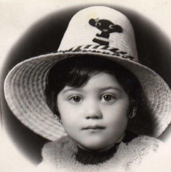 عکس کودکی شبنم مقدمی