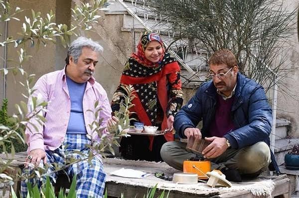 محمد نادری, ساقی زینتی و ساعد هدایتی از بازیگران سریال دنگ و فنگ روزگار
