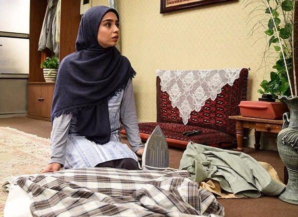 مریم شاه ولی بازیگر سریال دنگ و فنگ روزگار