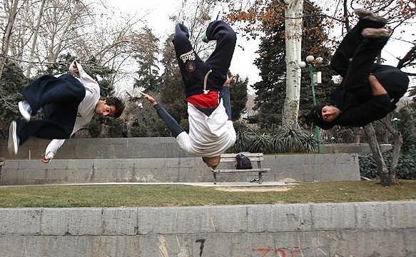 پارکور در ایران