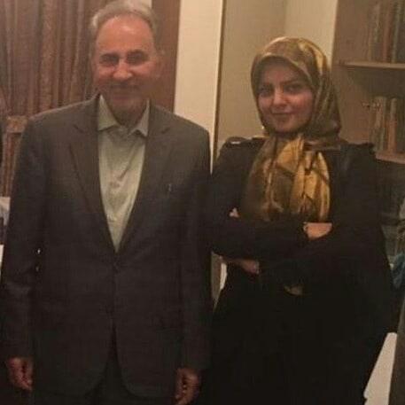 عکس میترا استاد و همسرش محمد علی نجفی۸