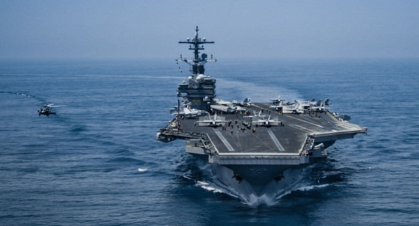 ناوگان امریکا در خلیج فارس