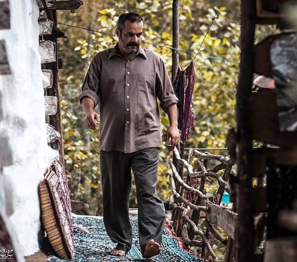 امیر حامد بازیگر نقش شعبان در سریال خانواده دکتر ماهان