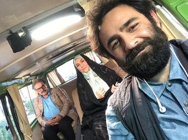 بازیگر نقش رضا در سریال شب عید، علی هاشمی
