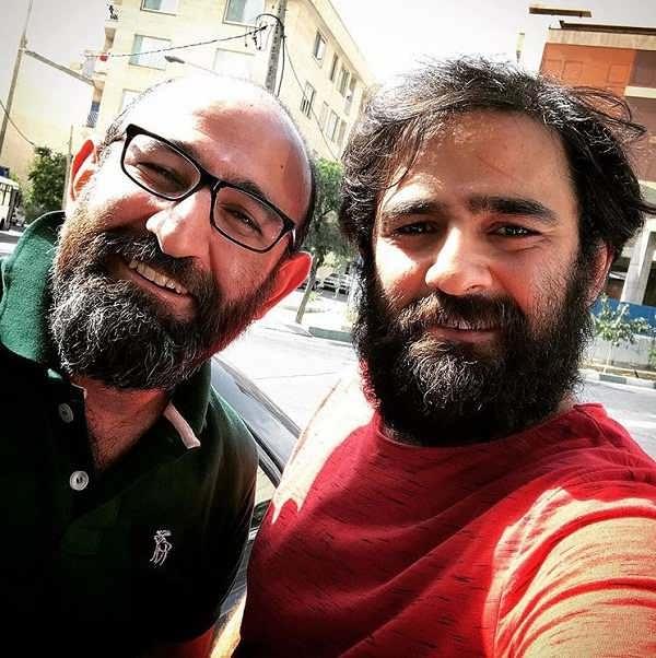 بازیگر نقش رضا در شب عید، علی هاشمی و برادرش هدایت هاشمی