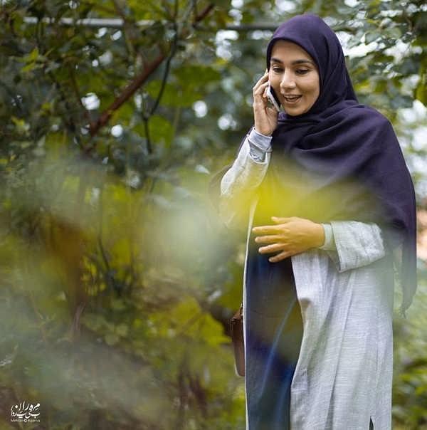 خاطره حاتمی بازیگر سریال خانواده دکتر ماهان