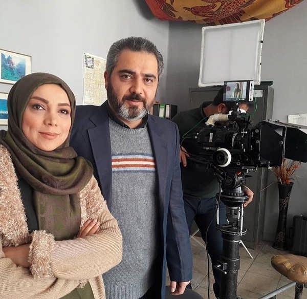 عکس اتابک نادری و برادرزاده اش سولماز نادری