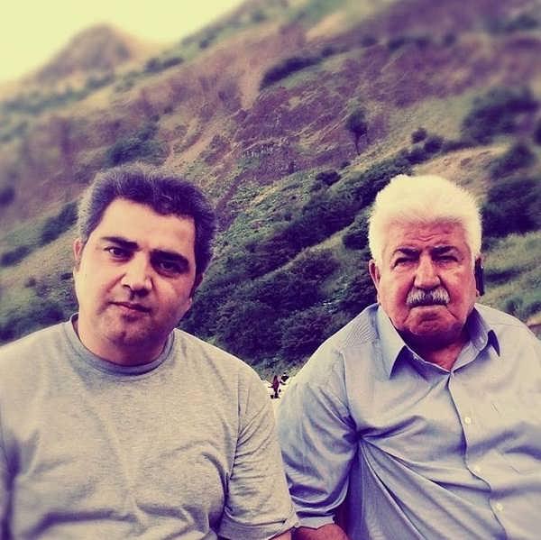 عکس اتابک نادری و پدرش