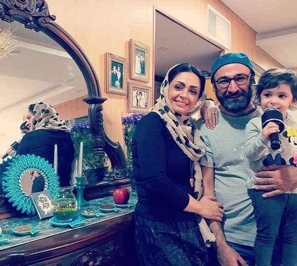 عکس بازیگر نقش اوس موسی در پایتخت در کنار خانواده اش