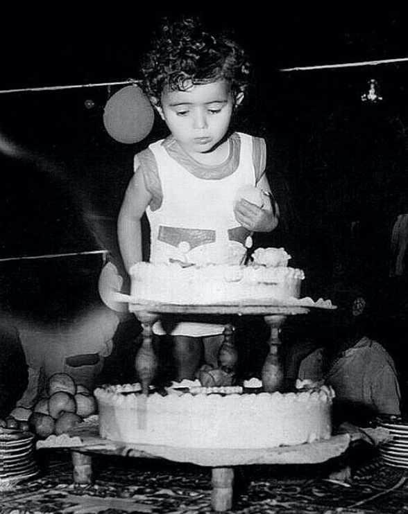 عکس تولد دو سالگی شراره درشتی