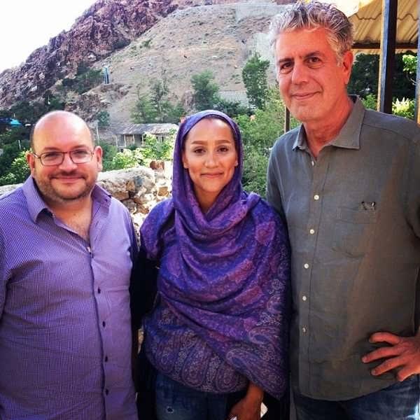 عکس جیسون رضاییان و همسرش یگانه صالحی در دربند