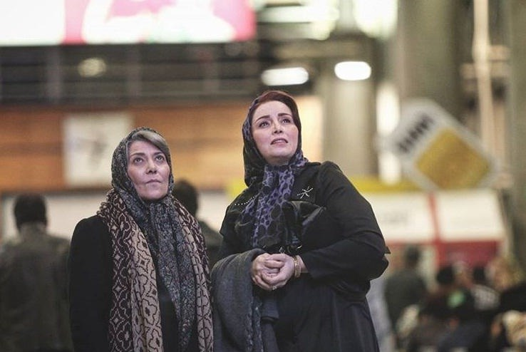 عکس رویا افشار بازیگر فیلم ایستگاه اتمسفر