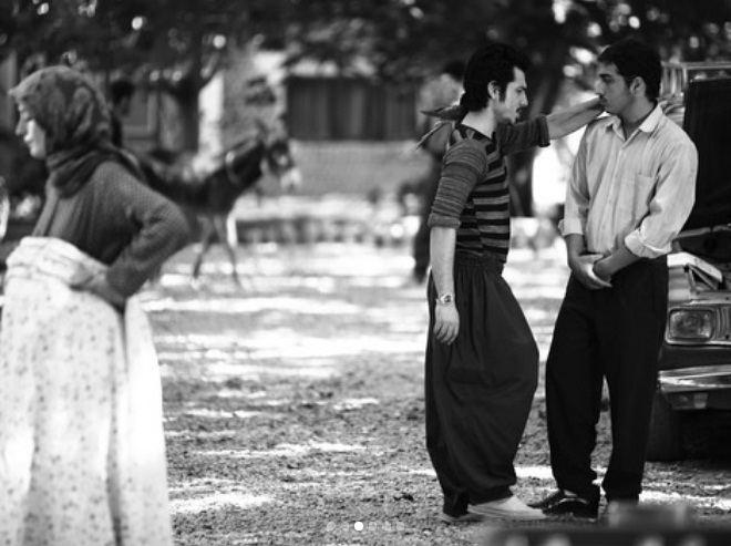 عکس عرفان ابراهیمی در سریال وضعیت سفید