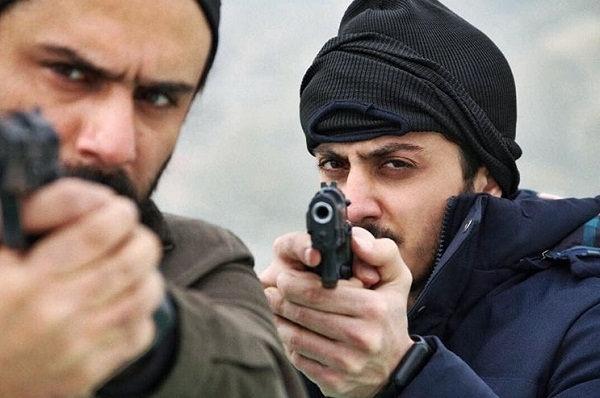 عکس های علی افشار بازیگر نقش داوود در سریال گاندو
