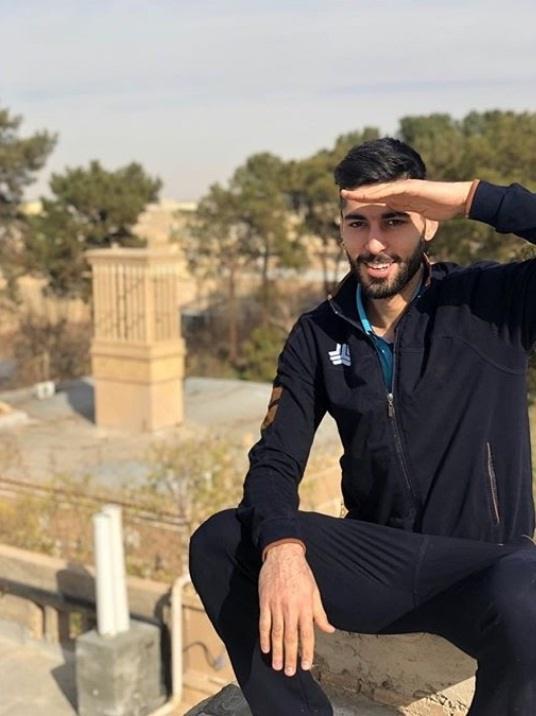 عکس علی شفیعی والیبالیست