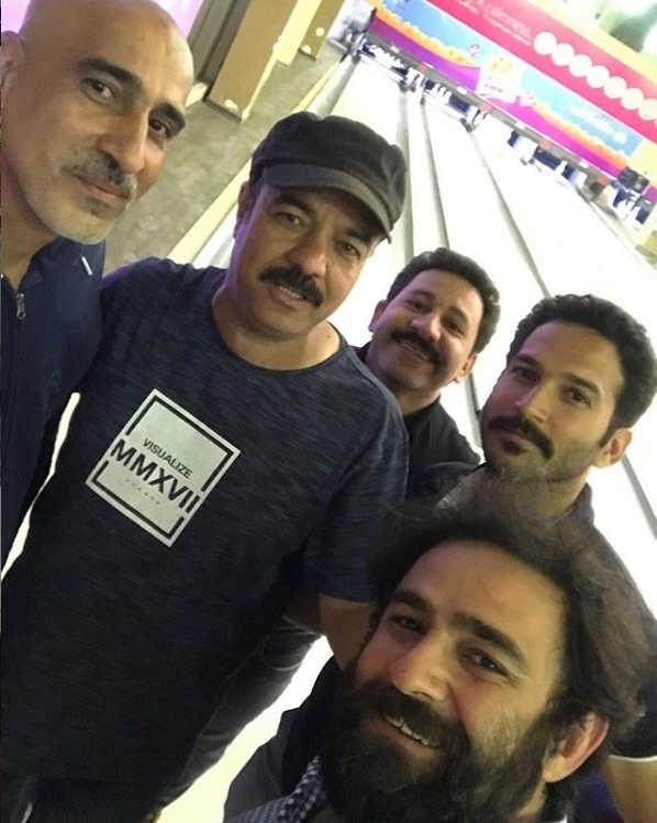 عکس علی هاشمی بازیگر نقش رضا در سریال شب عید