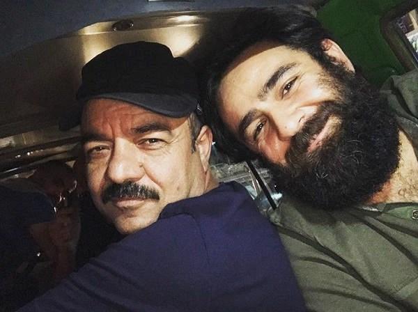 عکس علی هاشمی بازیگر نقش رضا در فیلم شب عید