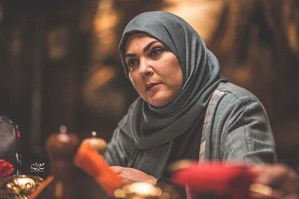 عکس لاله اسکندری بازیگر سریال خانواده دکتر ماهان