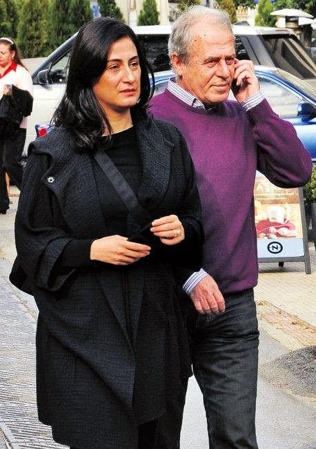 عکس مصطفی دنیزلی و همسرش