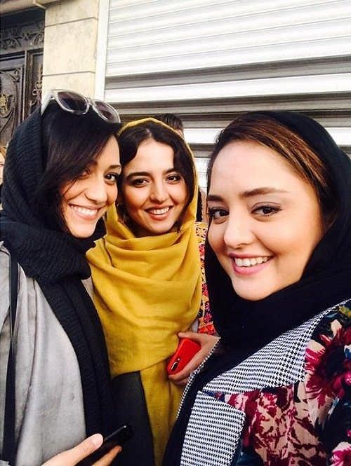 عکس نرگس محمدی و خواهرش سارا محمدی