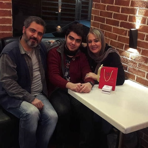عکس های اتابک نادری و همسرش سمیرا کحالی و پسرش تایماز نادری