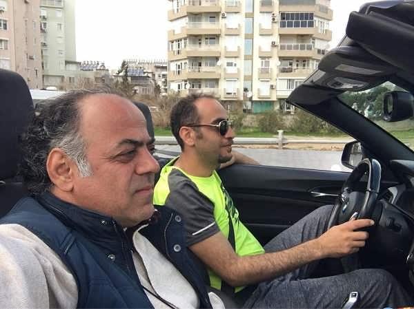 عکس های جواد افشار کارگردان سریال گاندو
