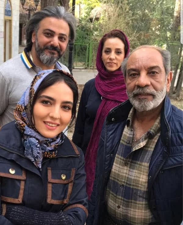 عکس های سارا محمدی خواهر نرگس محمدی در سریال گاندو