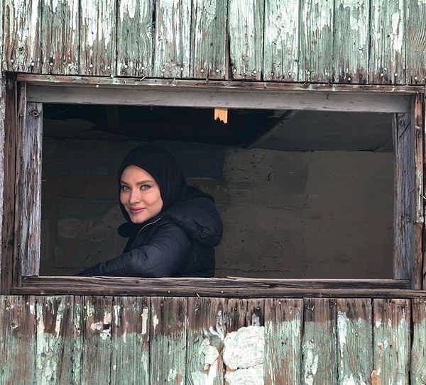 عکس های ساناز سعیدی بازیگر نقش فرشته در سریال عروس تاریکی