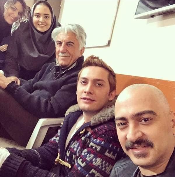 عکس های سعید رضایی بازیگر نقش آرمان در سریال بوی باران