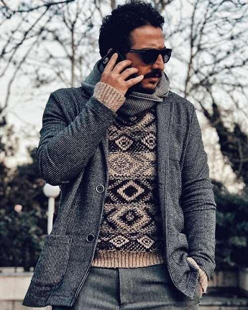 عکس عرفان ابراهیمی بازیگر