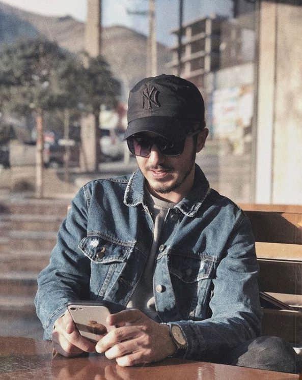 عکس علی افشار بازیگر