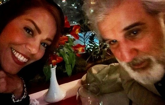 عکس های مهنوش صادقی و همسرش مهدی هاشمی