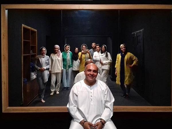 عکس های پیام دهکردی بازیگر نقش مایکل هاشمیان در گاندو
