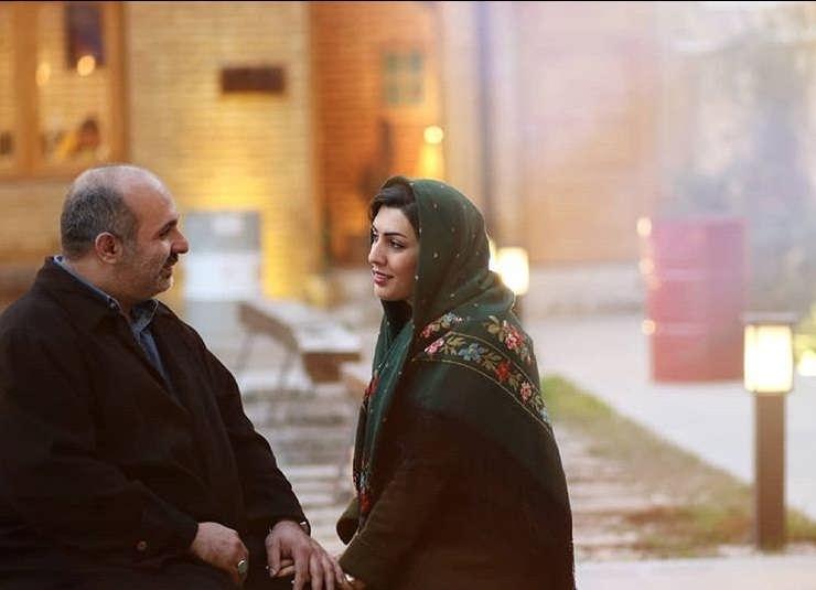 عکس های پیام دهکردی بازیگر نقش مایکل هاشمیان در گاندو و همسرش عارفه لک