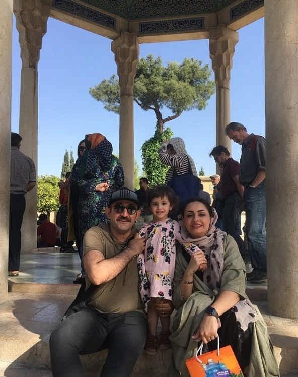 عکس هدایت هاشمی و همسر دومش مهشید ناصری