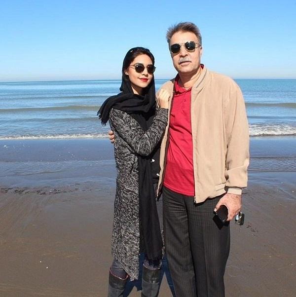 عکس پدر و خواهر علی شفیعی