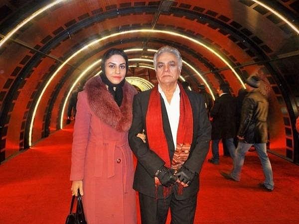 عکس چنگیز وثوقی و همسرش