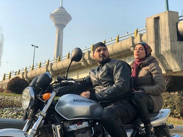 عکس کامبیز دیرباز و بهاره افشاری