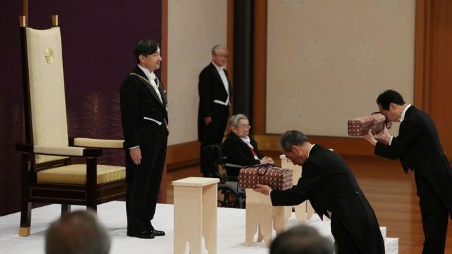 مراسم شروع سلطنت ناروهیتو در ژاپن