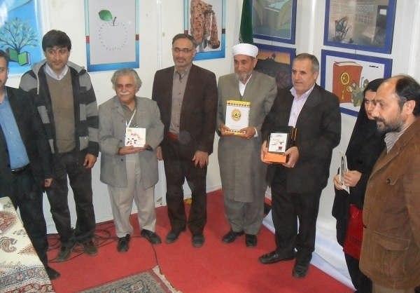 عکس احمدرضا اسعدی بازیگر در رونمایی از ۴ کتاب از نویسندگان گرگانی