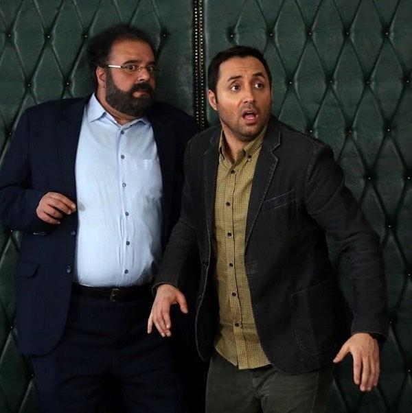 عکس بازیگران سریال آچمز امیرحسین رستمی و هومن برق نورد