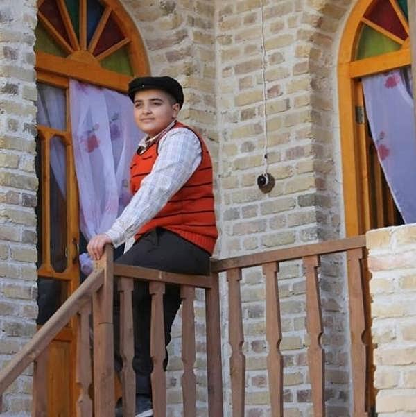 عکس بازیگران سریال حکایت های کمال امیر حسین کافتری بازیگر نقش عباس