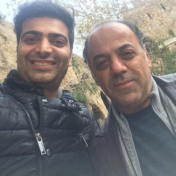 عکس های بازیگر نقش حسام در سریال گاندو