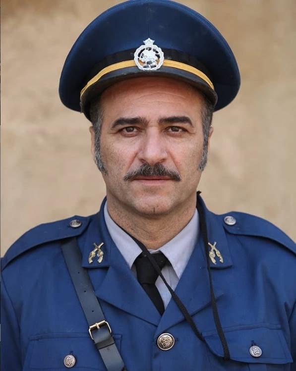 عکس حمید ابراهیمی بازیگر سریال حکایت های کمال
