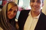 عکس حمید گودرزی و همسرش جدید